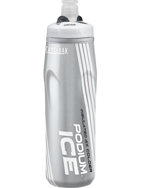 CamelBak Podium Ice - Bidón - 620ml gris/blanco